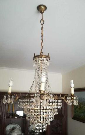 lustre | candeeiro de teto | cristal