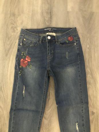 Dżinsowe spodnie Orsay rozmiar 36