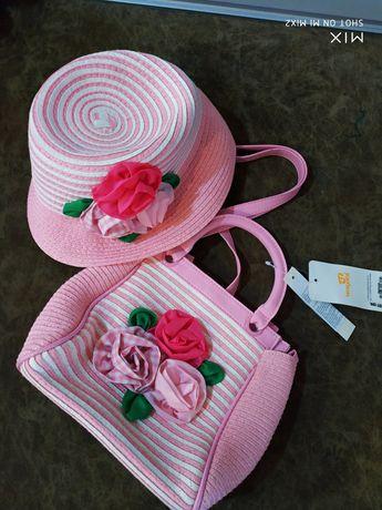 Комплект mayoral сумка шляпа шляпка панамка monnalisa