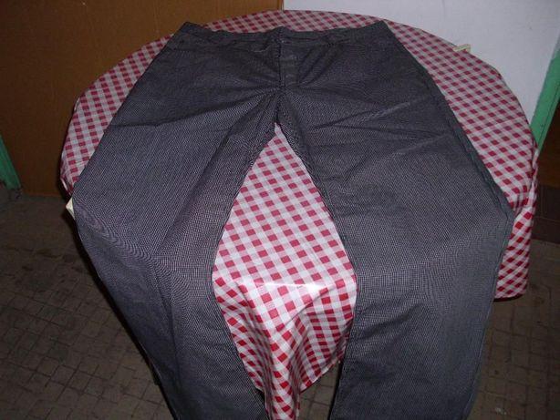 Spodnie BHP Kucharskie NOWE [-110 w pasie]