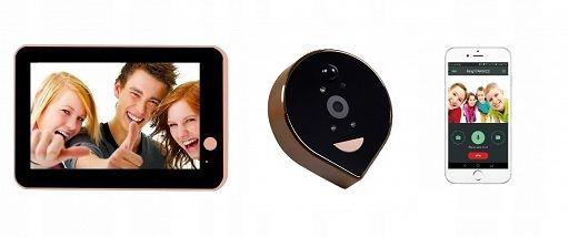 Video wizjer ED400Pb 720p IP, Wifi, Videowizjer IP