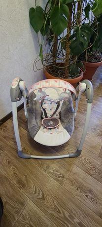 Детская электрическая качеля,люлька,кресло-качель