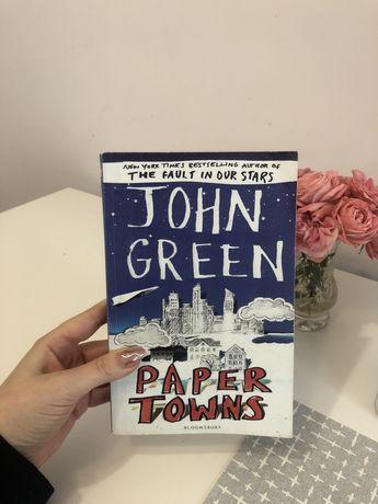 продам книгу Джона Гріна «Паперові міста» англійською