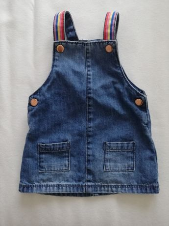 Sukienka jeansowa dżinsowa 74