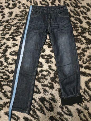 Штаны джинсовые (зима)
