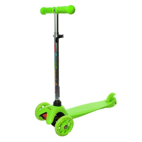 Самокат трехколёсный детский iTrike BB 3-013-4-C зелёный