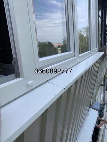 Наружная обшивка балконов,лоджий.