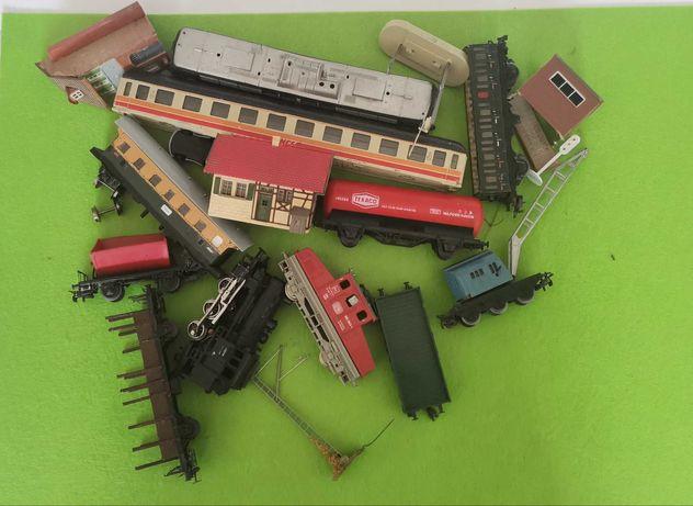 Comboio marklin lima fleischmann locomotiva carruagem ho 1/87 Bricolar