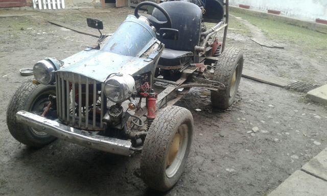 Багги, трактор