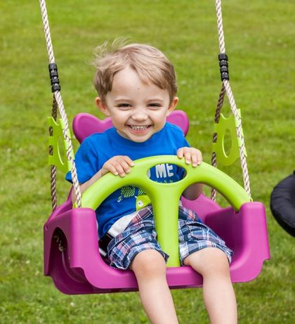 Huśtawka dla dzieci 3w1 typu trix ogrodowa HIT!