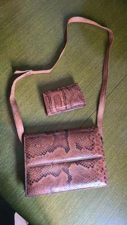 Torebka z portfelem
