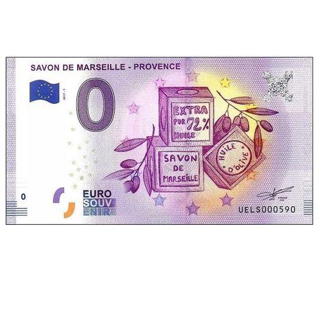 0 Euro - Savon de Marseille - Provence Francja 2017.1