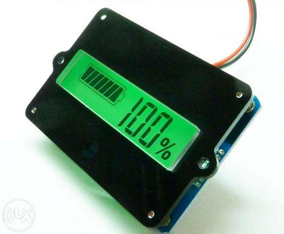 Индикатор аккумулятора емкости, ЖК тестер для 12В свинцово-кислотных а
