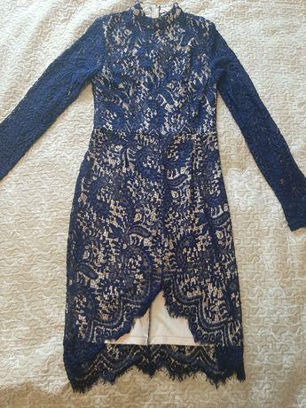 Сукня з мереживом 46-48