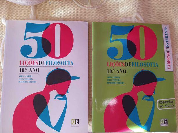 Manual 50 lições de filosofia 10ºano