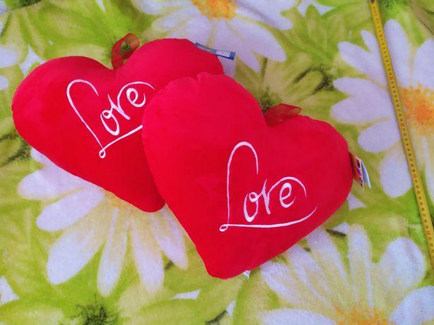 Новая подушка красное сердце серце подушка сердечко love