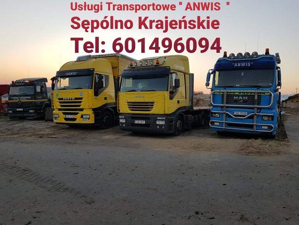 Usługi Transport Maszyny rolnicze Ciągnik Przyczepa Ładowarka 24 T