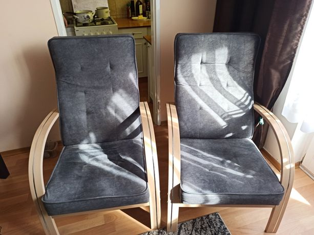 Fotele salon pokój cena za dwa