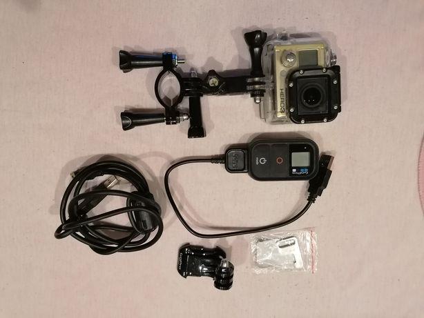 Kamera sportowa go pro hero 3 i akcesoria gopro