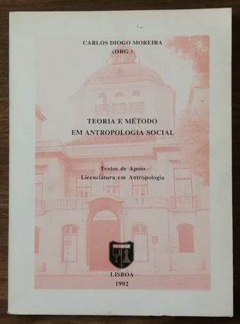 teoria e método em antropologia social, carlos diogo moreira 1992