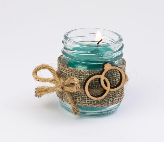 Świeczki zapachowe jako podziękowanie dla Gości Weselnych Ślub