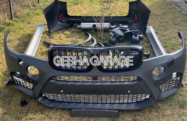Обвес Х5М F85 для BMW X5 F15 бампер,пороги,выхлоп