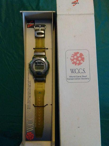 Casio G-Shock DWM-100WC, edição especial WCCS com caixa, portes grátis