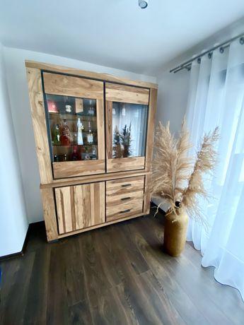 Kredens rustykalny z drewna palisandrowego H&H