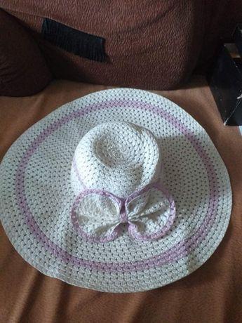 Шляпа от солнца с полями женская летняя.