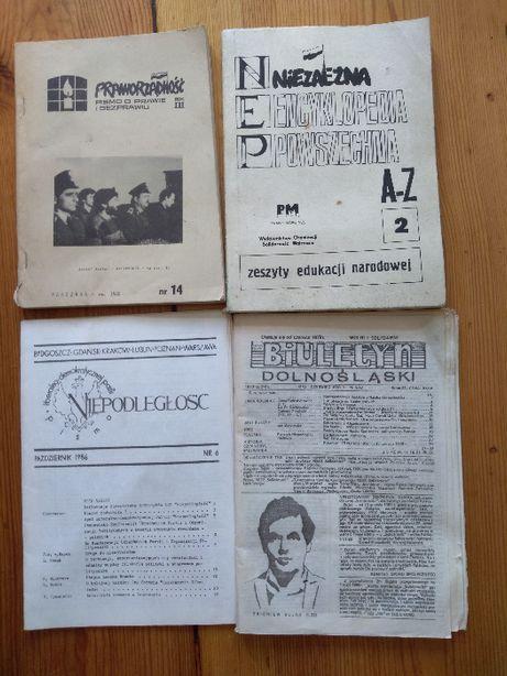 """Pismo o prawie i bezprawiu """"Praworządność"""" nr 14 1986."""
