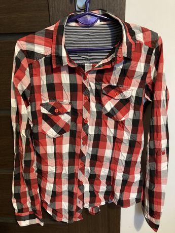 Koszula w kratke cropp r M