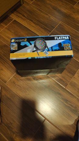 Foco/projetor flatpar rgb como novo
