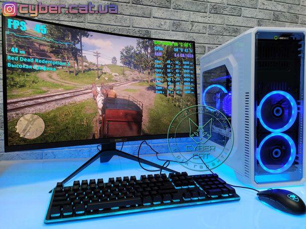 Лютая Мощь! Год Гарантии! GTX 1060 Игровой ПК мощнее i5 i7 Cyber Cat