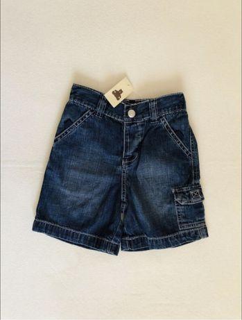 Новые!джинсовые шорты. Gap 18-24 мес.