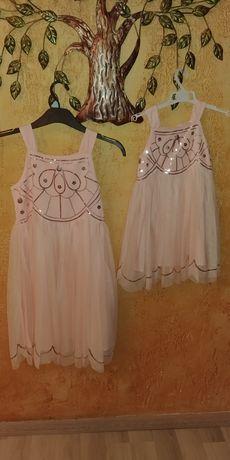 Sukienka, sukienki dla sióstr hm