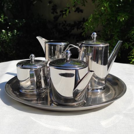 Serviço de chá Inox