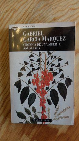 Cronica de una muerte anunciada - Gabriel Garcia Marquez, hiszpański