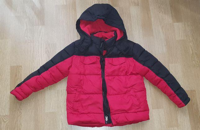Куртка демисезонная красная для мальчика
