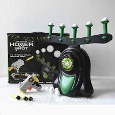 Акция Воздушный тир Hover Shot,летающие мишени, пистолет с дротиками