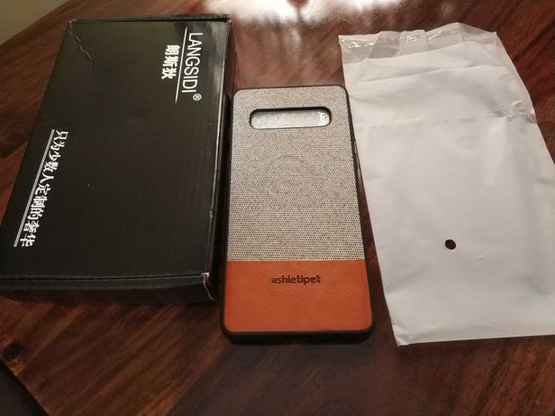 Nowe etui magnetyczne plecki Samsung S10