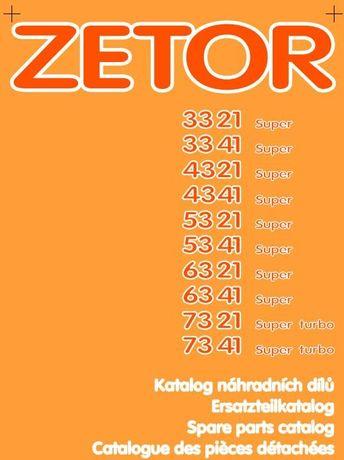 Zetor 3321, 3341, 4321, 4341, 5321, 5341, 6321, 7321, 7341 katalog cz