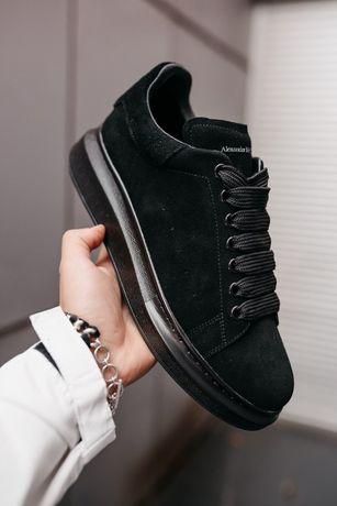 McQueen Larry Black zamsza 36 - 40 damskie buty trampki
