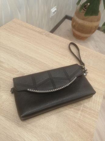 Клатч - сумочка  чорна