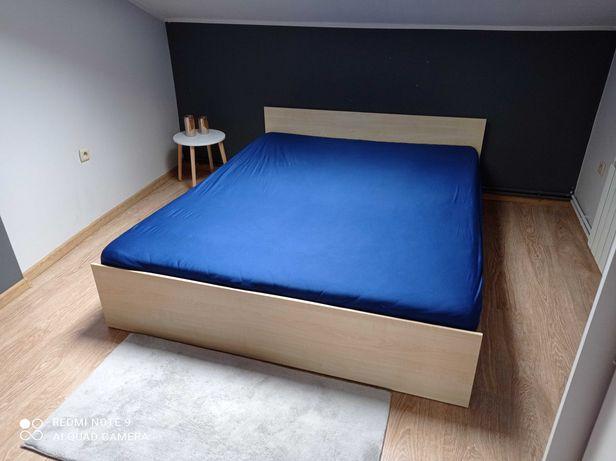 Łóżko sypialniane Black Red White bez materaca