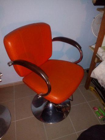 Fotel fryzjerski 2 sztuki