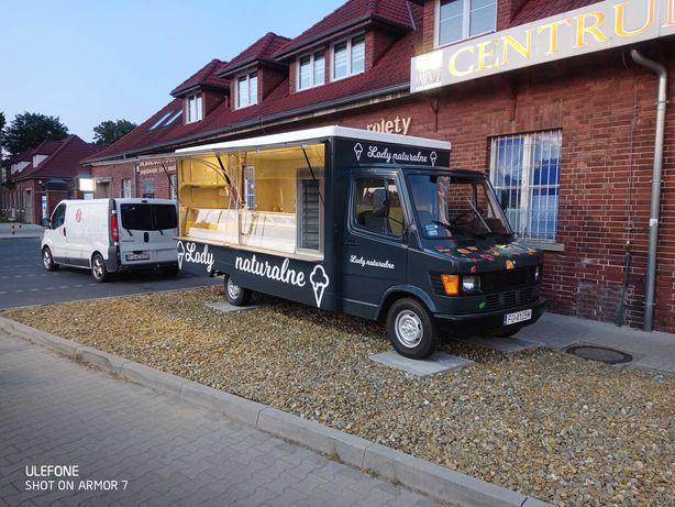 Mercedes Kaczka Food truck lodziarnia w ciągłej eksploatacji. Okazja