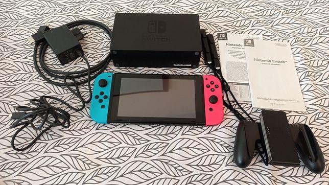 Konsola Nintendo Switch v2 pełen zestaw