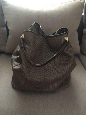 Кожаная сумка D&G