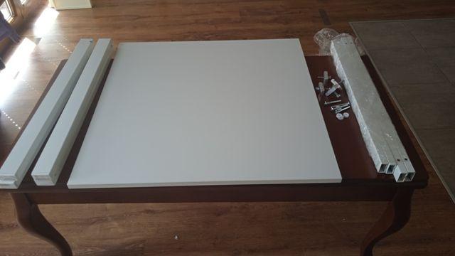 Stół stolik Ikea bialy Melltorp 75/75