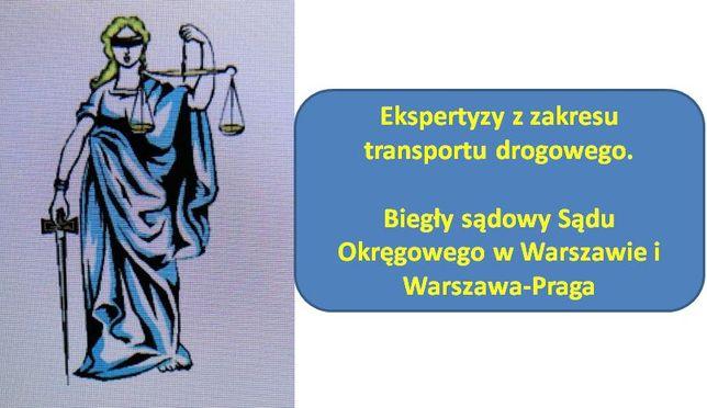 Biegły sądowy - transport drogowy UTRACONE KORZYŚCI FINANS., MOCOWANIE